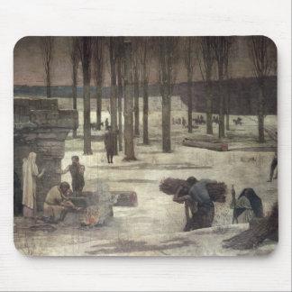 Invierno, 1889-93 alfombrilla de ratón