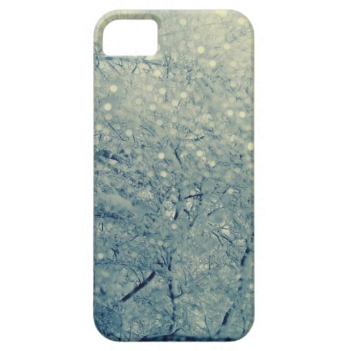 Invierno Bokeh iPhone 5 Case-Mate Coberturas