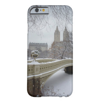 Invierno - Central Park - New York City Funda Barely There iPhone 6