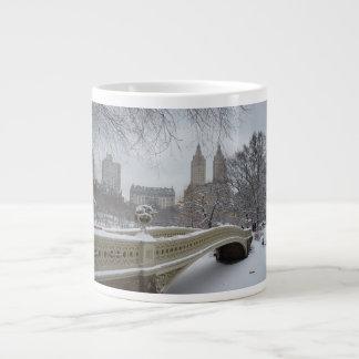 Invierno - Central Park - New York City Tazas Extra Grande