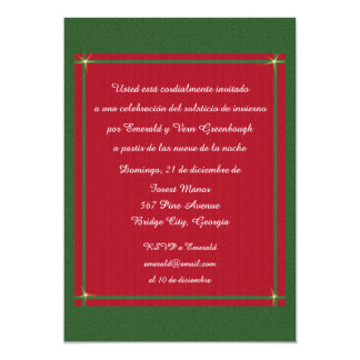 Invierno con Encanto Solsticio Card