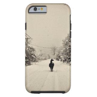 invierno de la llama funda de iPhone 6 tough