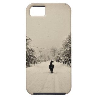 invierno de la llama iPhone 5 cárcasa