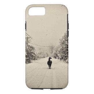 invierno de la llama funda iPhone 7