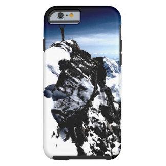 Invierno de la nieve del logro del montañés funda de iPhone 6 tough