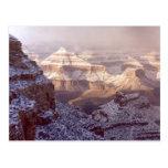 Invierno de la postal/del Gran Cañón