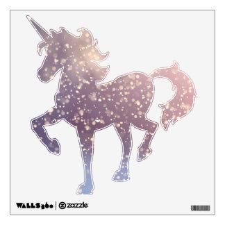 Invierno de la serie estacional del unicornio