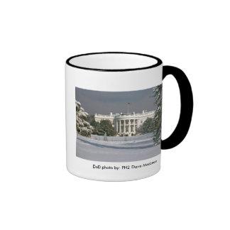 Invierno de la taza/de la Casa Blanca
