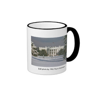 Invierno de la taza/de la Casa Blanca Taza De Dos Colores