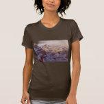 Invierno de las señoras T/Gran Cañón Camiseta