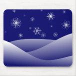 Invierno de los copos de nieve