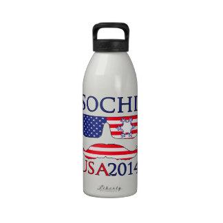 Invierno de los E.E.U.U. 2014 Botellas De Agua Reutilizables