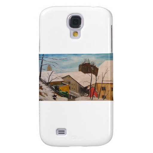 Invierno de Neubeuern im Funda Para Galaxy S4