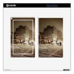 Invierno de Nueva York - nieve en la ciudad Skin Para Kindle Fire