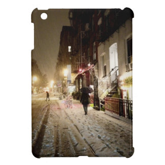 Invierno de Nueva York - nieve en la zona este más iPad Mini Funda