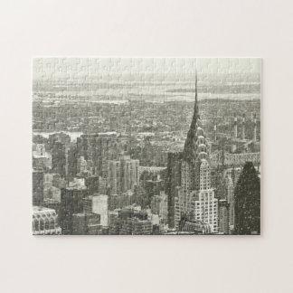 Invierno de Nueva York Puzzles Con Fotos