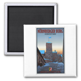 Invierno de Nürnberg - de Heidenturm Imán Para Frigorífico