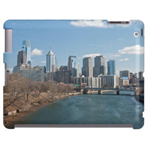 Invierno de Philly Funda Para iPad