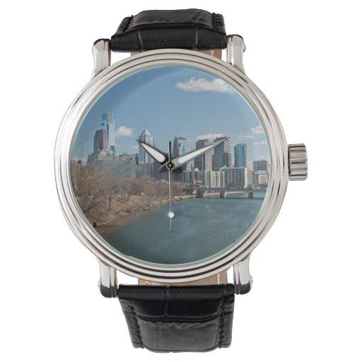 Invierno de Philly Reloj De Mano