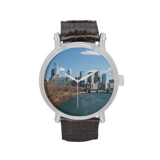 Invierno de Philly Relojes De Pulsera