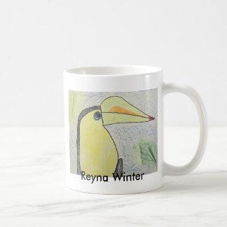 Invierno de Reyna Taza De Café