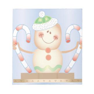 INVIERNO de Smore_Gingerbread_Man_and_Candycane_ F Bloc De Papel