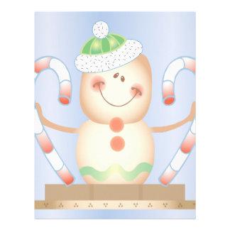 INVIERNO de Smore_Gingerbread_Man_and_Candycane_ F Membrete A Diseño