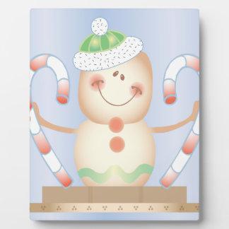 INVIERNO de Smore_Gingerbread_Man_and_Candycane_ F Placas Con Fotos