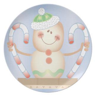INVIERNO de Smore_Gingerbread_Man_and_Candycane_ F Plato De Cena
