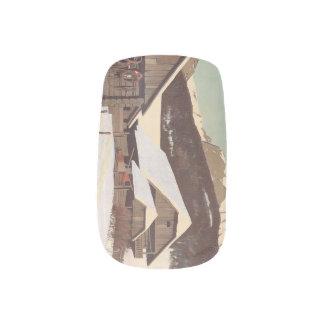 Invierno del austriaco de la CAMISETA Stickers Para Manicura
