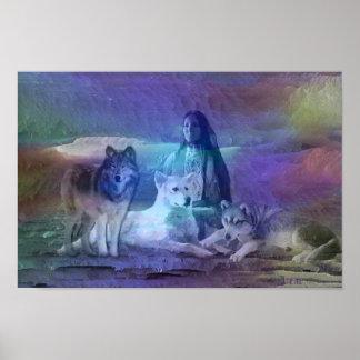 Invierno del lobo poster