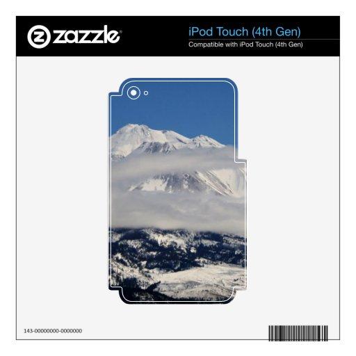 Invierno del Mt. Shasta iPod Touch 4G Skins