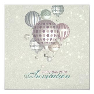 """Invierno Dreamflight - la fiesta de Navidad invita Invitación 5.25"""" X 5.25"""""""