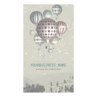Invierno Dreamflight (tiempo del navidad) Tarjetas De Visita