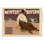 Invierno en Baviera Tarjetón