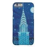 Invierno en caso del iPhone 6 de New York City Funda Barely There iPhone 6