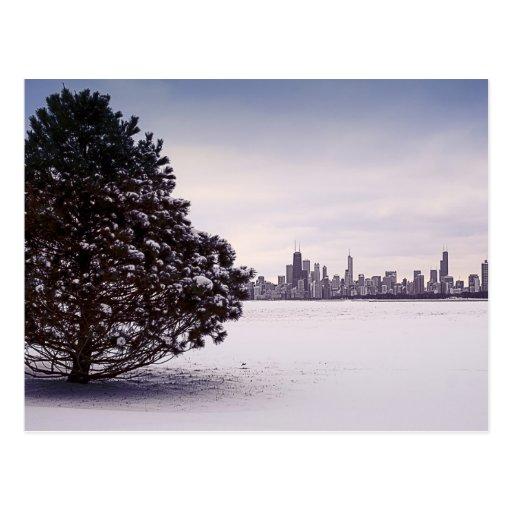 Invierno en Chicago Postal
