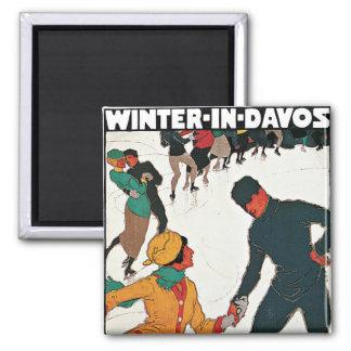 Invierno en Davos Iman Para Frigorífico