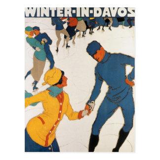 Invierno en Davos Postales