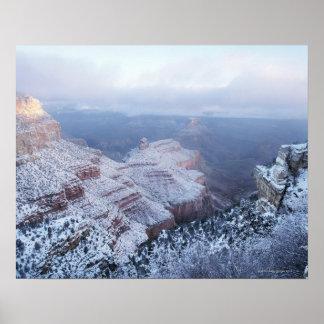 Invierno en el borde del sur, nacional del Gran Ca Póster