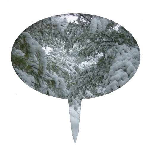 Invierno en el bosque palillos de tarta