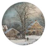 Invierno en el país, mañana del frío de A Platos
