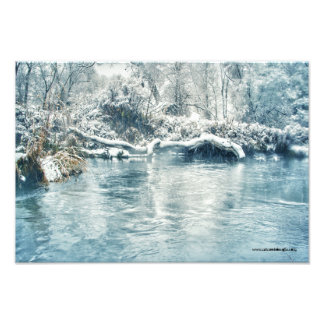 Invierno en el río de Beaverhead, Montana Fotografía