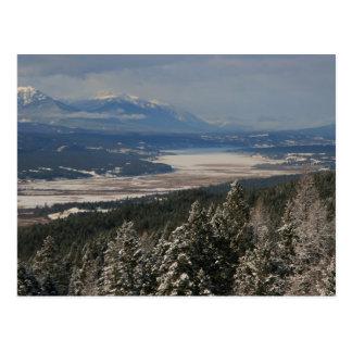 Invierno en el valle de Columbia Postal