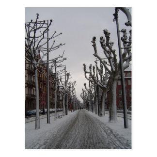 Invierno en Estrasburgo Tarjetas Postales