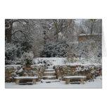Invierno en Francia Tarjeta
