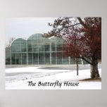 Invierno en la casa de la mariposa posters