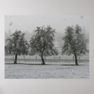 Invierno en la granja 1 de 2 impresiones