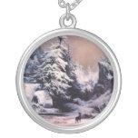 Invierno en los Rockies - 1867 Colgantes Personalizados