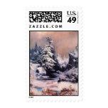 Invierno en los Rockies - 1867 Sello